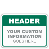 Custom Facility Signs