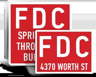 Custom FDC Signs