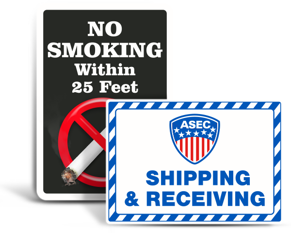 Custom Free-Form Safety Signs