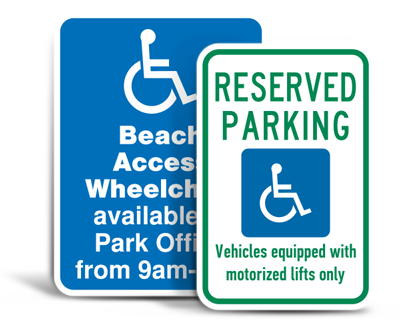 Custom Handicap Parking Signs