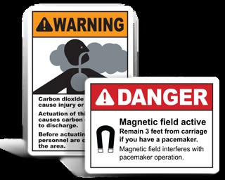 Custom Health Hazard Labels