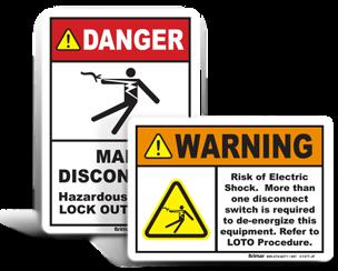 Custom Lockout Labels