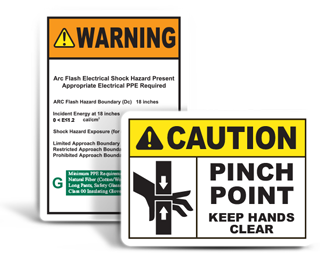 Custom Machine Safety Labels