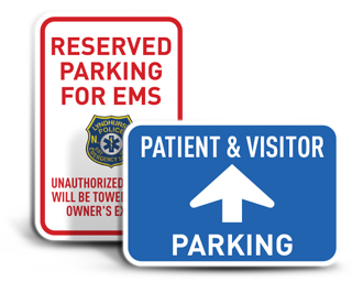 Custom Medical Parking Signs