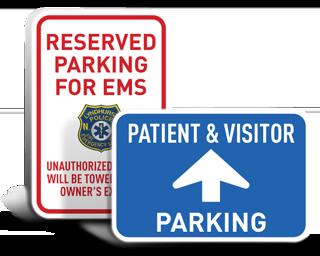 Custom Medical Parking Signs