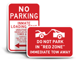 Custom No Parking Signs