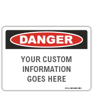 ANSI Z535 and OSHA Custom Safety Signs