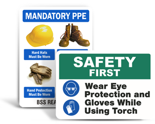 Custom PPE Signs