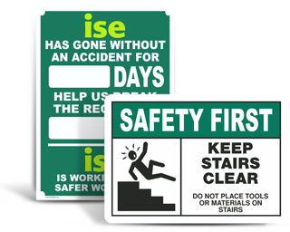 Custom Safety Awareness Signs