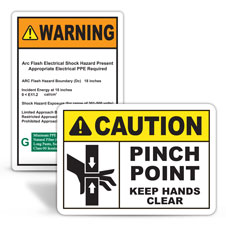 Custom Safety Labels