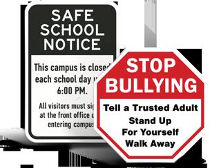 Custom School Property Signs
