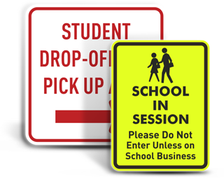 Custom School Zone Signs