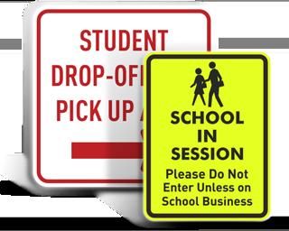 Custom School Signs