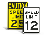 Custom Speed Limit Signs