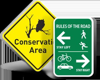 Custom Traffic Safety Signs