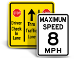 Custom Road Signs