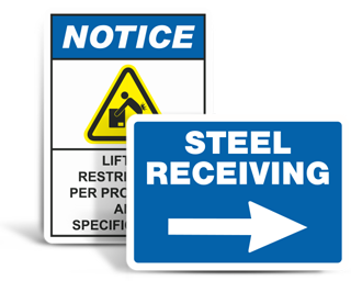 Custom Warehouse Safety Signs