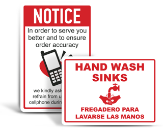 Custom Workplace Signs
