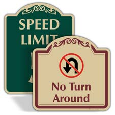 Decorative Traffic Signs