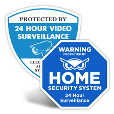 Home Security Signs And Home Security Yard Signs For Sale