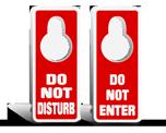 Door Knob Signs
