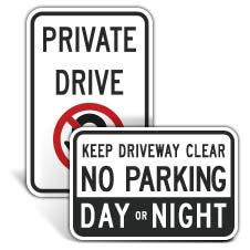 Driveway Signs