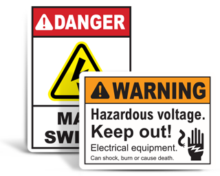 Electrical Equipment Signs