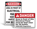 Electrical Panel Labels