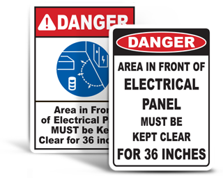 Electrical Panel Signs