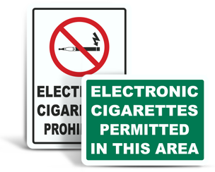 Electronic Cigarette Signs