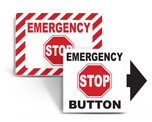 Emergency Stop Labels