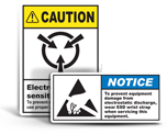 ESD Labels