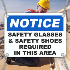 Eye Safety Signs