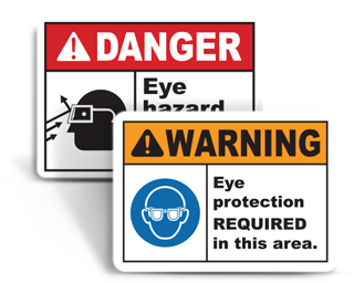 Eye Protection Signs
