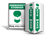 Eye Wash Signs
