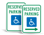 Federal Handicap Parking Signs