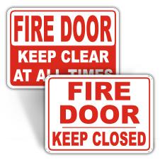 Fire Door Signage