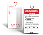 Fire Extinguisher Tags