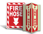Fire Hose Signs