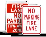 Fire Lane Signs
