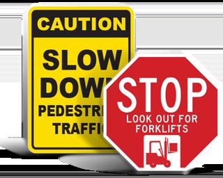 Forklift Traffic Signs