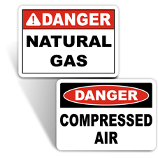 Gas Identification Signs