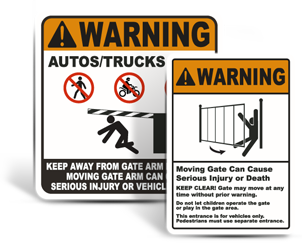 Gate Signs