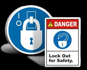Lockout Tagout Labels