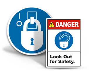 Lockout Tagout Labels