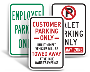 Commercial Parking Signs
