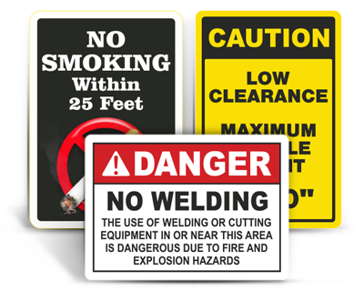 Custom Safety Signs