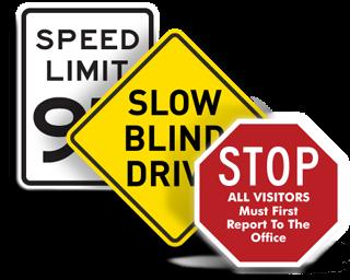 Custom Traffic Signs