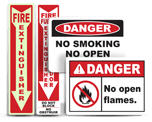 Fire Hazard Labels