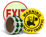 Floor Safety Labels